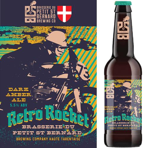 Retro Rocket: American Amber Ale